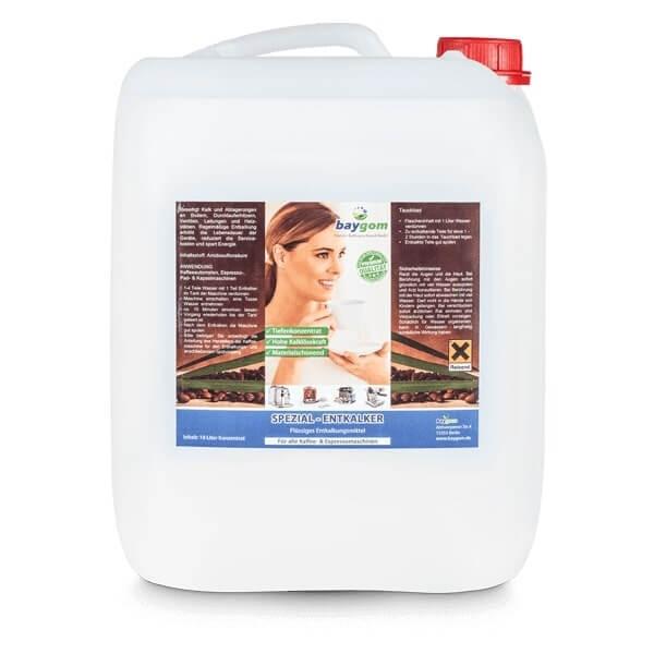 10 Liter Entkalker für Espressomaschinen
