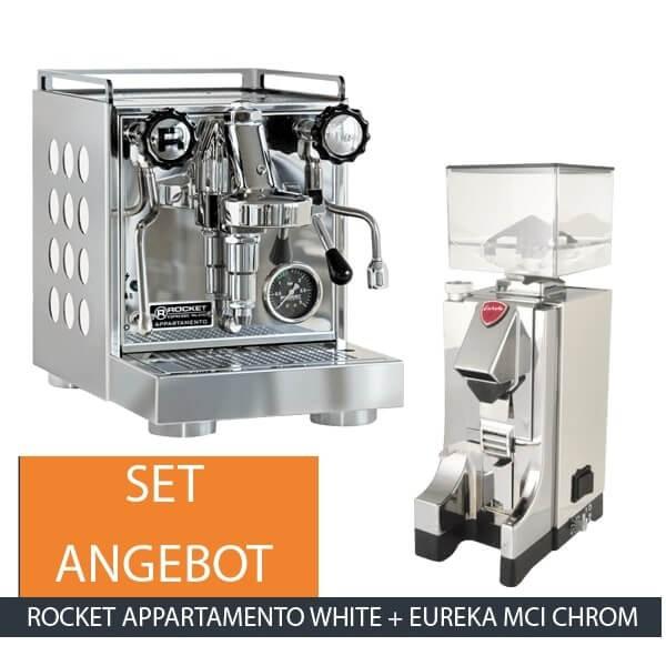 Rocket Appartamento White Eureka MCI Chrom