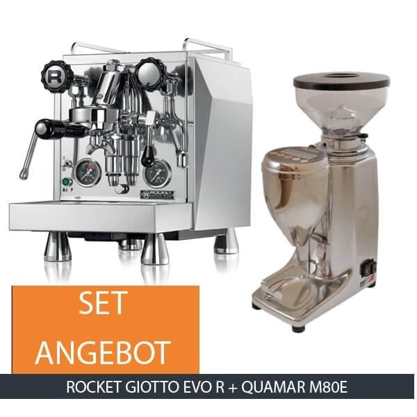 Rocket Giotto Evo R & Quamar M80E