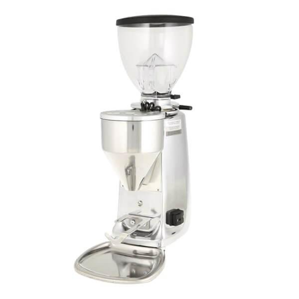 Mazzer Mini Electronic A in Alu Poliert Kaffeemühle