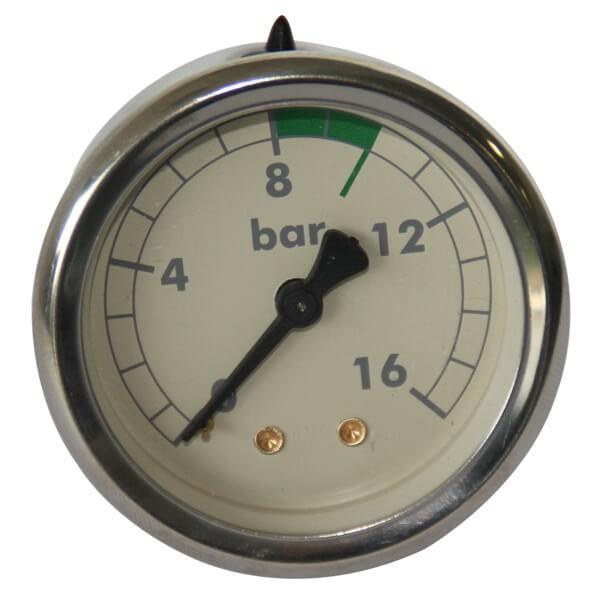 Rocket Pumpenmanometer V3 Version 16 Bar in Weiss