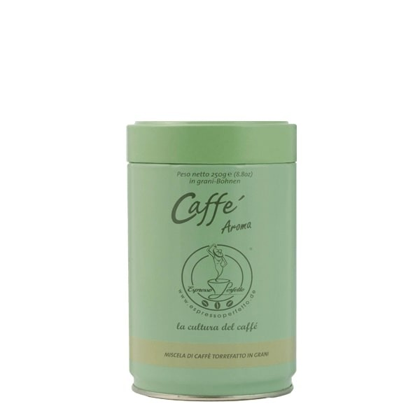 Espresso Perfetto Crema Aroma 250g Dose