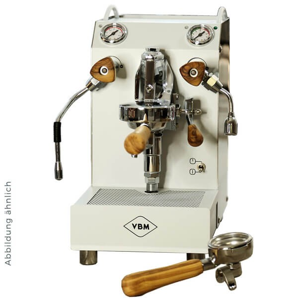 Vibiemme Junior 2B Dual-Boiler in Weiss - Espressomaschine