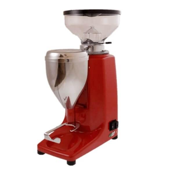 Quamar M80E Digital in Rot Kaffeemühle
