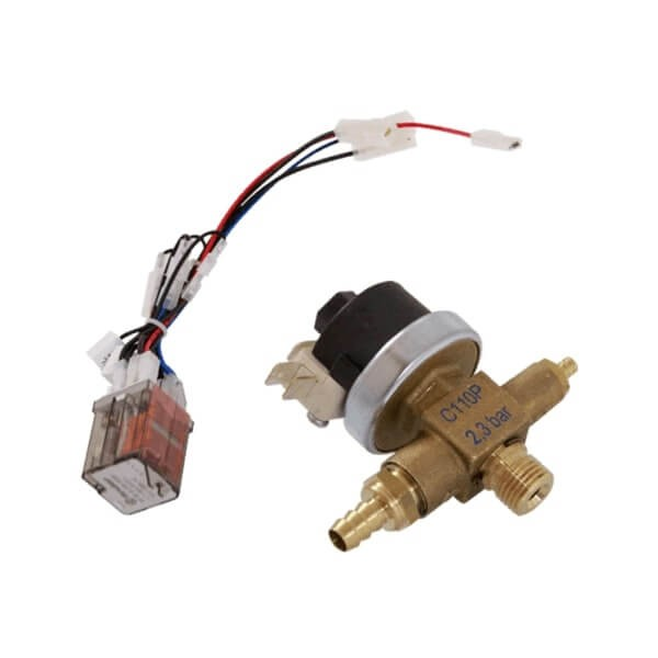 Pressostat + Relay KIT 230V
