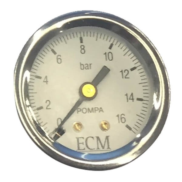 ECM Pumpenmanometer 16Bar