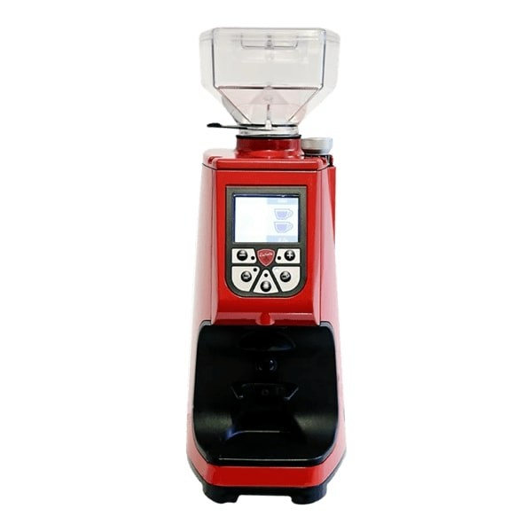 Eureka Atom in Rot - Kaffeemühle