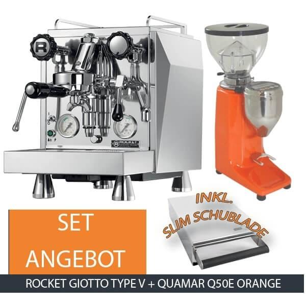 Rocket Giotto Type V Quamar Q50E Orange