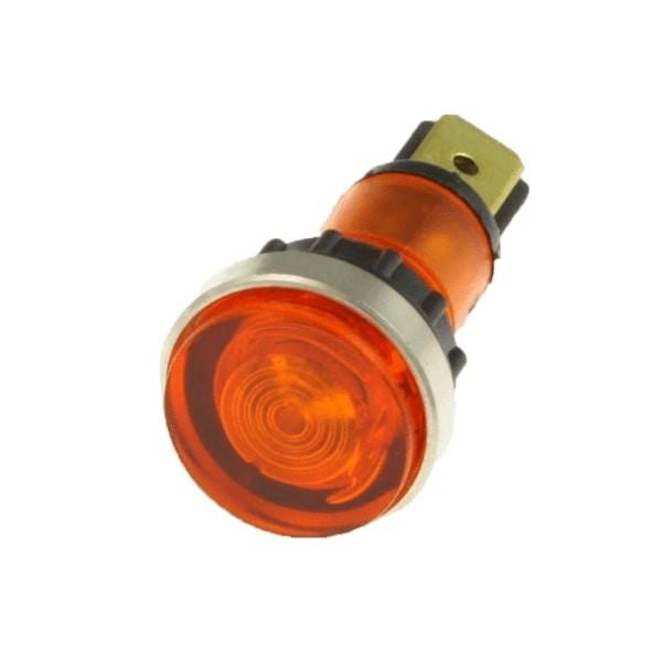 Bezzera Leuchte in Orange